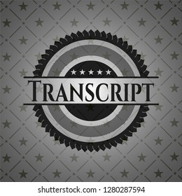 Transcript dark emblem