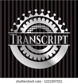 Transcript silver badge