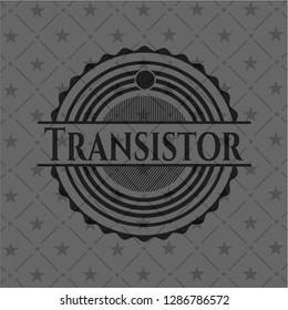 Transistor dark emblem