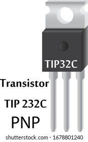 A transistor is a semiconductor radio element that is widely used in radio engineering, in modern television technology. Powerful transistor with pnp junction.