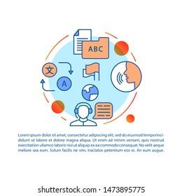 Online Translation Vector Art Images, Stock Photos & Vectors