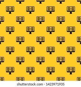 Computer Screen Texture Stock Vectors, Images & Vector Art