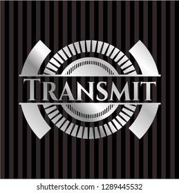 Transmit silver emblem