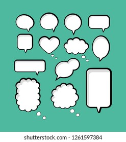 Transparent Background with Boom comic book explosion vector design pattern. speech bubbles. Price tag. Pop art. text box. conversation chat. information frame. Talk balloon. Dream cloud. illustration