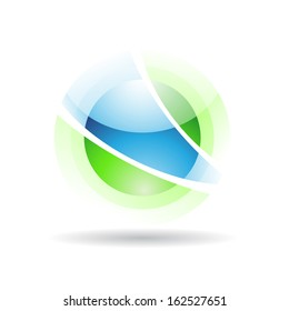 Transparent Ball Abstract Icon