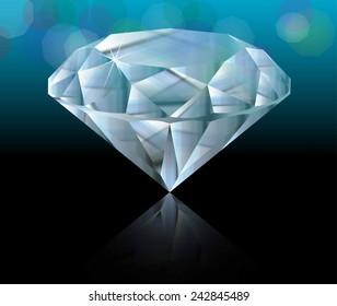 Transparent diamond