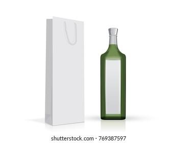 Wine Bag Blank Images, Stock Photos & Vectors | Shutterstock
