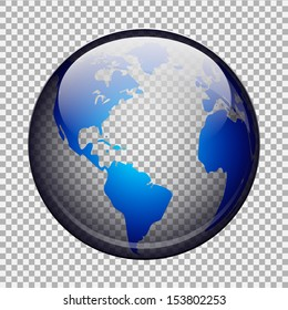 Usa map transparent background images stock photos vectors vector eps10 transparent globe freerunsca Image collections