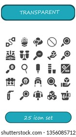 transparent icon set. 25 filled transparent icons.  Collection Of - Chest expander, Gauntlet, Pamela, Forbbiden, Loupe, Beer bottle, Test tube, Zoom out, Cube, Magnifying glass
