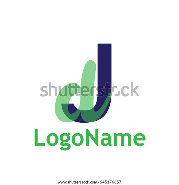 transparent j d logo stock vector royalty free 545176657 shutterstock
