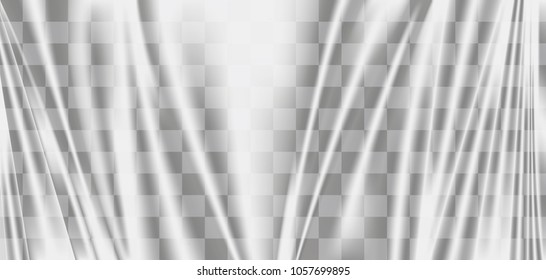 a transparent plastic warp background texture vector