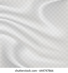 Transparent Plastic Wrap Background