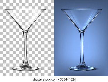 Transparent vector glass