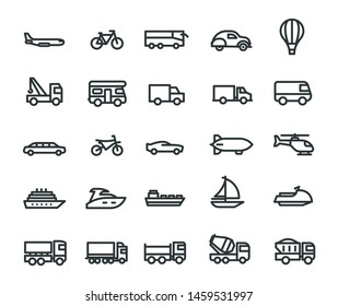 Transport Collections Symbol Icon Vector