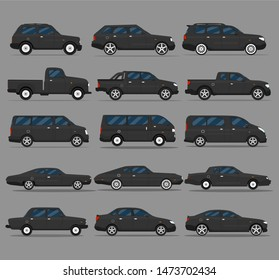 Transport design over white background, vector illustration. Car flat style icon