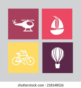 transport graphic design , vector illustration