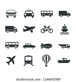 Transport Icons Collection