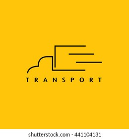 Transport logo,Delivery company