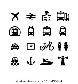 Transport signs and logos