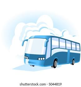 Transport & Travel icons. Bus.