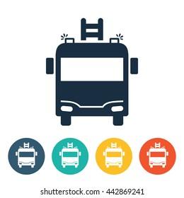 Transportation Icons - Fire Brigade