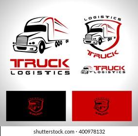 truck logo images stock photos vectors shutterstock rh shutterstock com semi truck logo images semi truck logos free