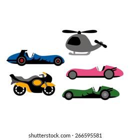 Transportation vector.