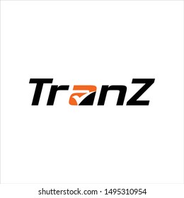 Tranz Logo and Symbol. Transportation and Logistic company Icon Vector Eps 10.