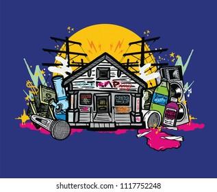 Trap House Images Stock Photos Vectors Shutterstock