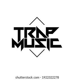 Trap Music  logo design
