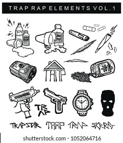 TRAP RAP ELEMENTS