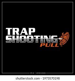 Trap shooting insignia, Sports Team, Clay Pigeon, Logo, Design