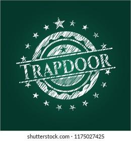 Trapdoor chalk emblem