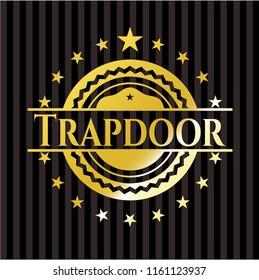 Trapdoor golden emblem