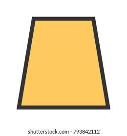Trapezium, Shapes, geometric