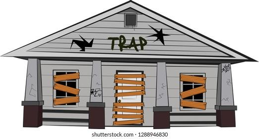 Traphouse Cartoon Trap