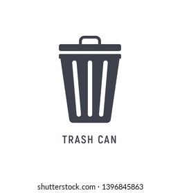 Trash can garbage dustbin waste. Trashcan basket empty bucket.