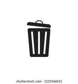 Trash can vector icob