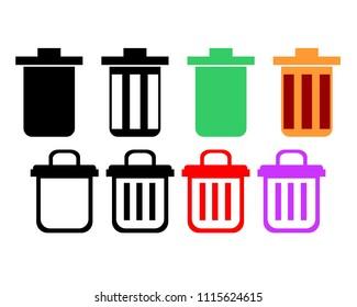 Trash Illustration Vector