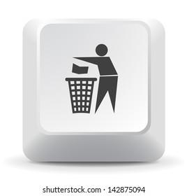 Trash Keyboard Key