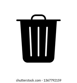 Trash Vector Icons Illustration Logo Template
