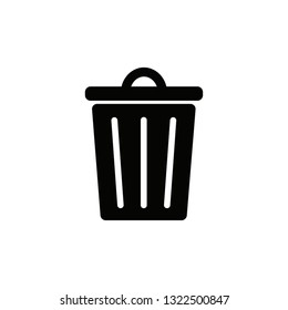 trash rubbish bin icon set. trashcan symbol.rubbish bin 37a0ef5af9d9