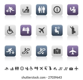 travel and airport pictograms (1 of 3)