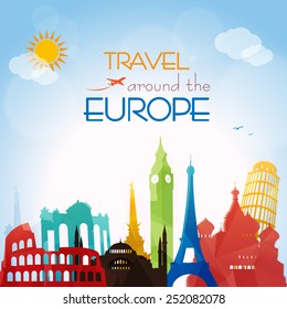 Travel around the Europe