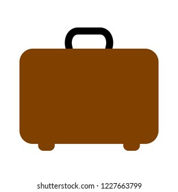 travel bag icon - Suitcase, travel and tourism concept, holiday icon