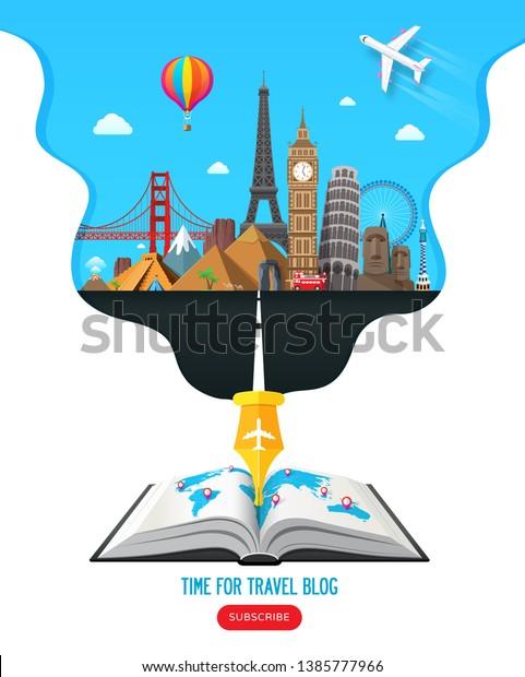 Travel Journal Clip Art