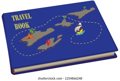 Travel Book with Sea Charts and Routes
