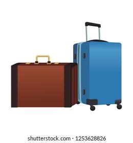 travel briefcase icon