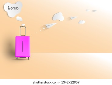 Travel concept background