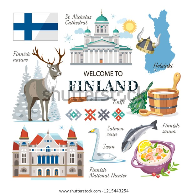 Финляндия картинка для детей